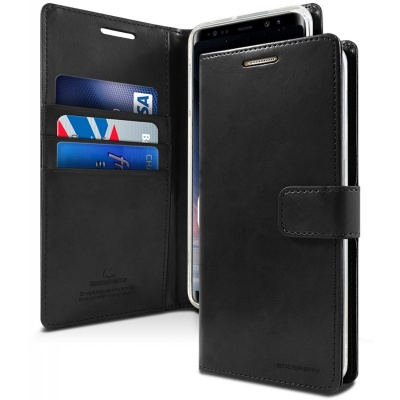 Samsung Galaxy Note 8 Bluemoon Wallet Case  Black