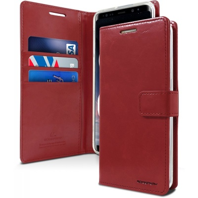 Samsung Galaxy Note 8 Bluemoon Wallet Case  WineRed