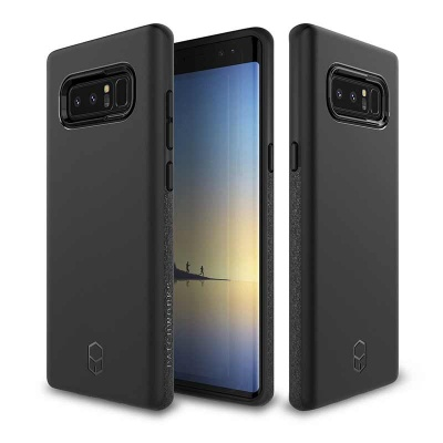 Samsung Galaxy Note 8 Patchwork Level ITG Series Case Black