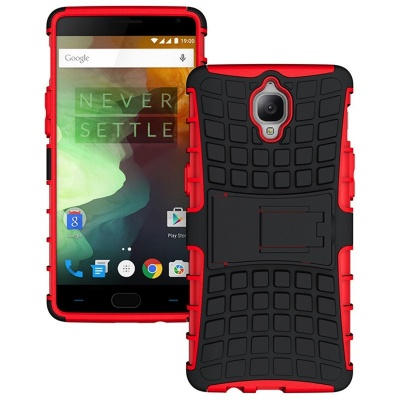 OnePlus 3 Tyre Defender Cover Red