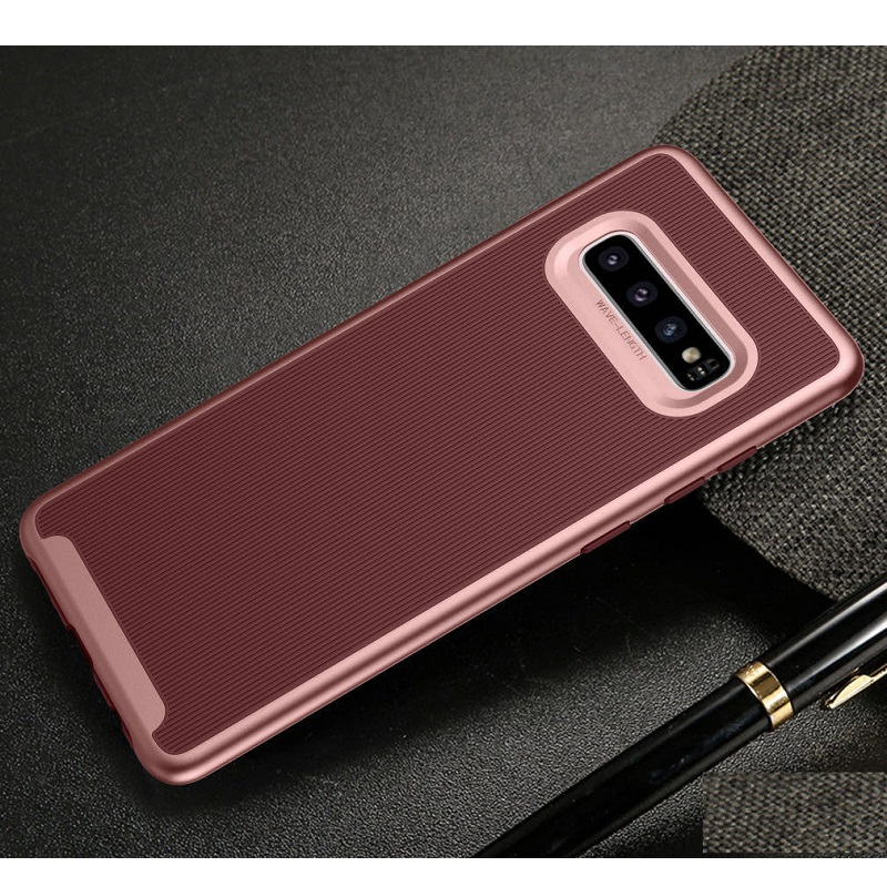 Samsung Galaxy S10e  Wavelength Shockproof Case | Rosegold
