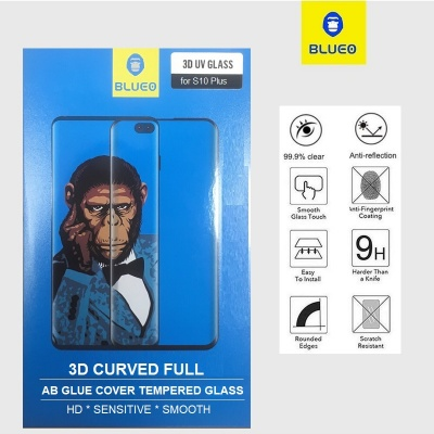 Samsung Galaxy S10 Plus 3D UV Glass Screen Protector | Blueo
