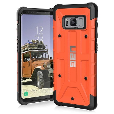 Samsung Galaxy S8 UAG Pathfinder Feather-Light Case Rust