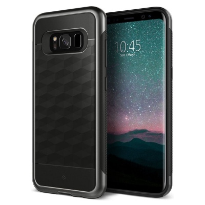 Samsung Galaxy S8  Plus Caseology Parallax Series Case - Black