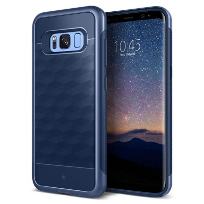 Samsung Galaxy S8  Plus Caseology Parallax Series Case - Navy
