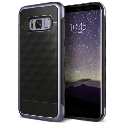 Samsung Galaxy S8  Plus Caseology Parallax Series Case - Orchid Gray