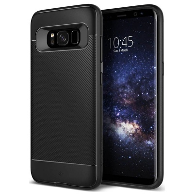Samsung Galaxy S8  Plus Caseology Vault II Series Case - Black