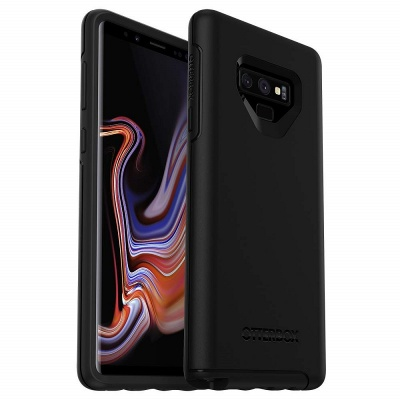 Samsung Galaxy Note 9 Case OtterBox Symmetry Series Case Black