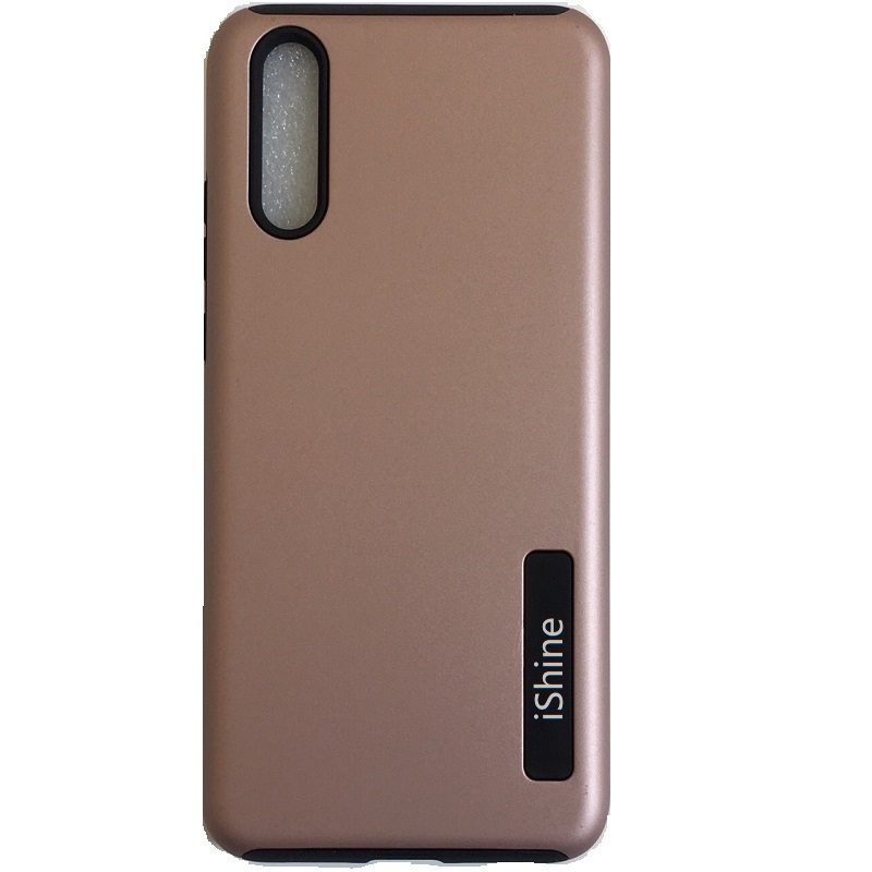 Samsung Galaxy A90 5G Dual Layer Case - Rosegold