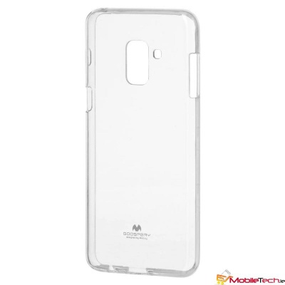 Samsung Galaxy A8(2018) Goospery Jelly Cover Clear