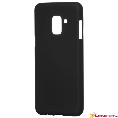 Samsung Galaxy A8(2018) Goospery Soft Feeling Case Black