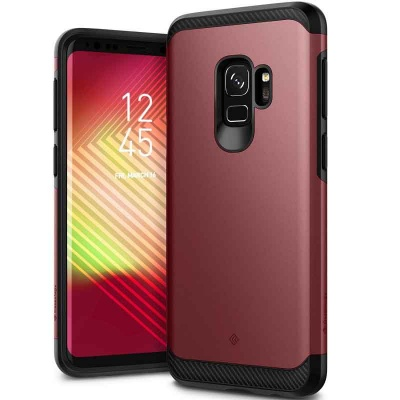 Samsung Galaxy S9 Caseology Legion Series Cover Burgundy