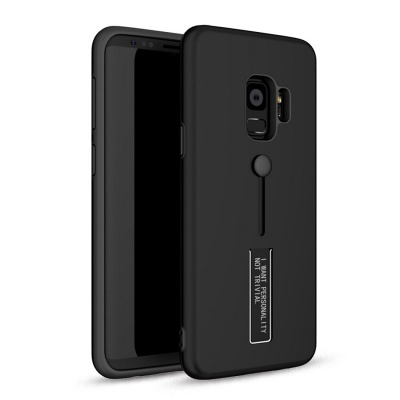 Samsung Galaxy J6 Plus (2018) Kickstand Shockproof Cover Black