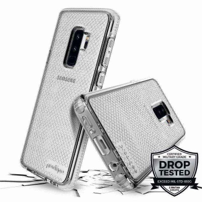 Samsung Galaxy S9 Plus Prodigee Safetee Series Cover  Silver
