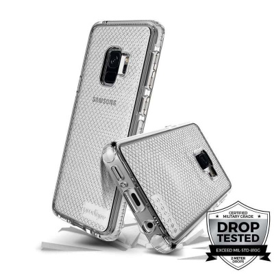 Samsung Galaxy S9 Prodigee Safetee Series Cover  Silver