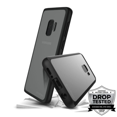 Samsung Galaxy S9 Prodigee Safetee Slim Series Cover Black