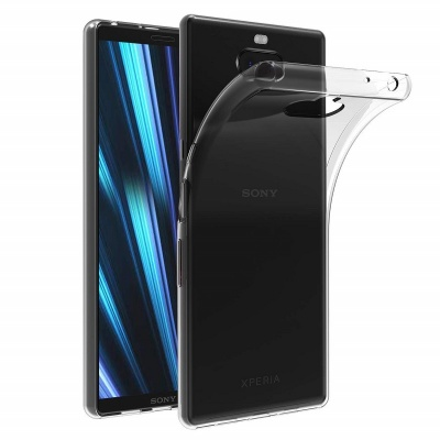 Sony Xperia 10 Silicon Clear Cover