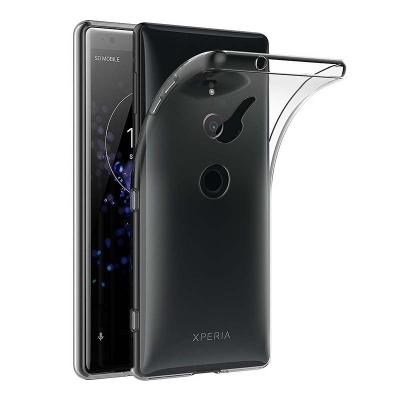 Sony Xperia XZ2 Silicon Clear Cover