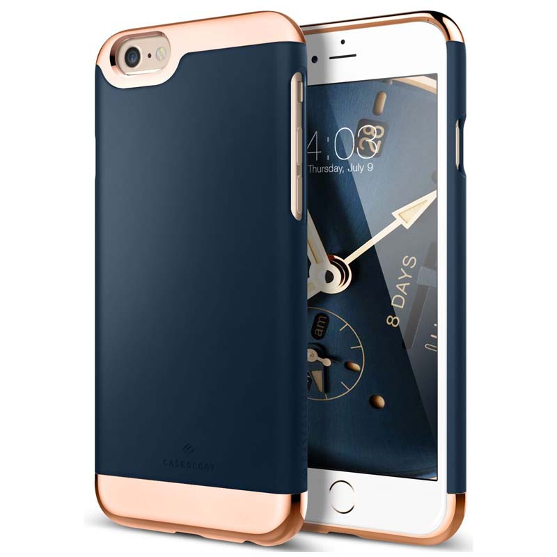 iPhone 6/6S   Caseology Savoy Series Case - Navy Blue