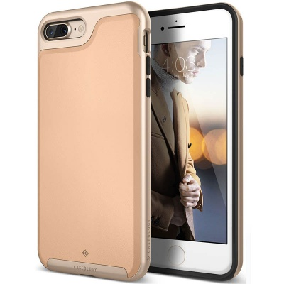 iPhone 7/8 Plus   Envoy Series Case - Leather Beige