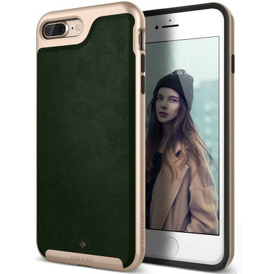 iPhone 7/8 Plus   Envoy Series Case - Leather Green