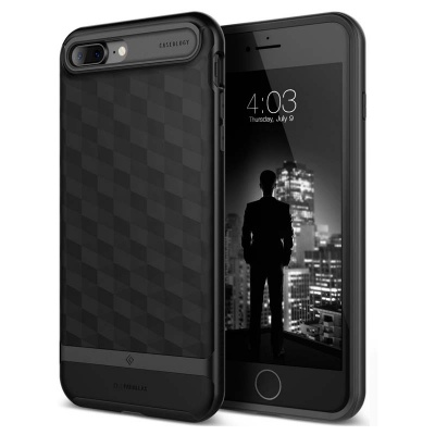 iPhone 7/8 Plus   Parallax Series Case - Matte Black