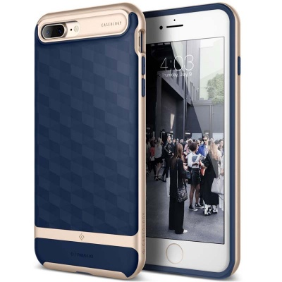iPhone 7/8 Plus   Parallax Series Case - Navy Blue