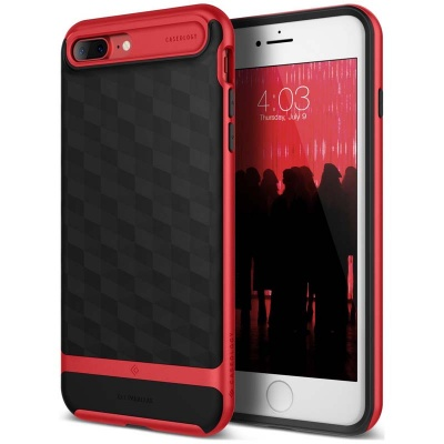 iPhone 7/8 Plus   Parallax Series Case - Red