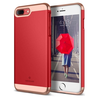 iPhone 7/8 Plus Caseology Savoy Series Case - Red