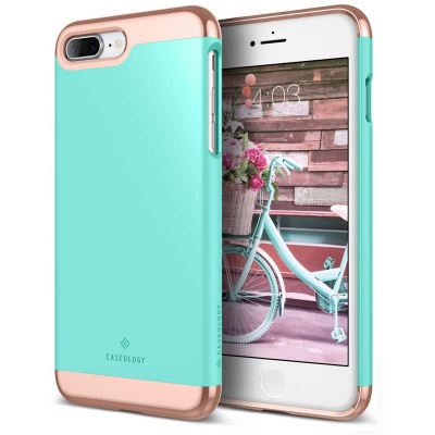 iPhone 7/8 Plus Caseology Savoy Series Case - Turquoise Mint