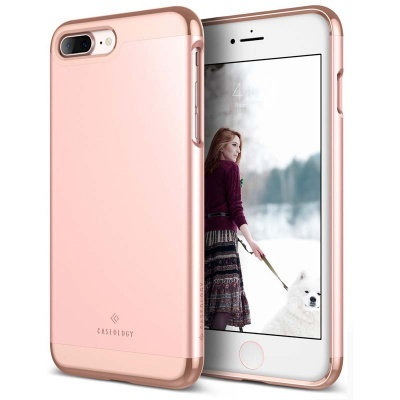 iPhone 7/8 Plus Caseology Savoy Series Case RoseGold