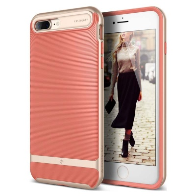 iPhone 7/8 Plus   Wavelength Series Case - Coral Pink