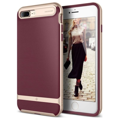 iPhone 7/8 Plus   Wavelength Series Case - Burgundy