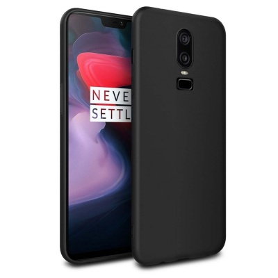 OnePlus 6 Silicon Cover Black