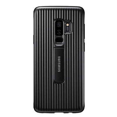 Samsung Galaxy S9 Plus Official Protective Stand Cover Case - Black