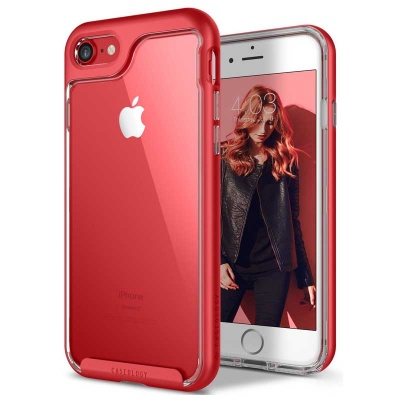 iPhone 7 / iPhone 8 Case Caseology Skyfall Series- Red