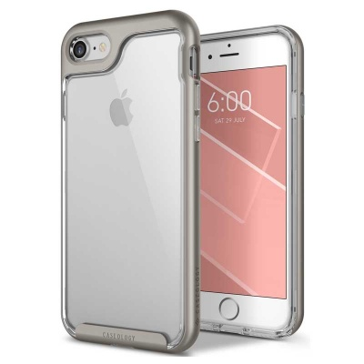 iPhone SE (2nd Gen) and iPhone 7 / iPhone 8 Case Caseology Skyfall Series- Grey
