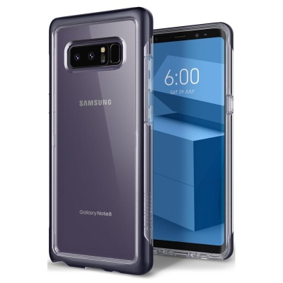 Samsung Galaxy Note 8 Caseology Skyfall Series Case - Orchid Gray