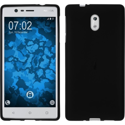 Nokia 3 Silicon Case Black