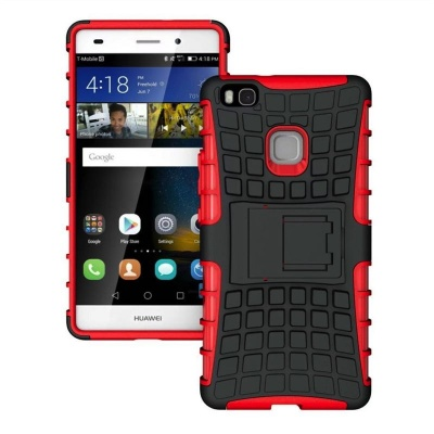 Huawei P9 Lite Tyre Defender Red
