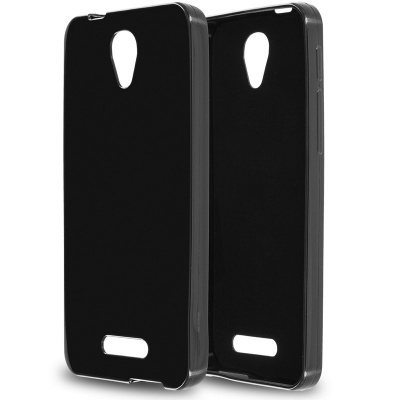 Alcatel Pop4 Plus  Silicon Case Black