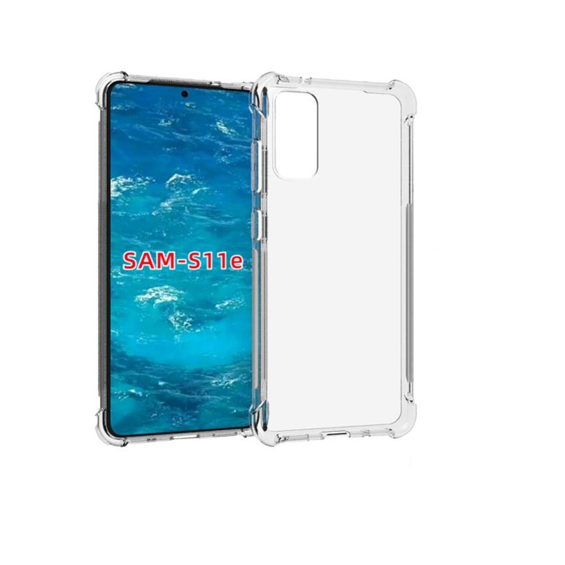 Samsung Galaxy S20 Super Protect Anti Knock Clear Case