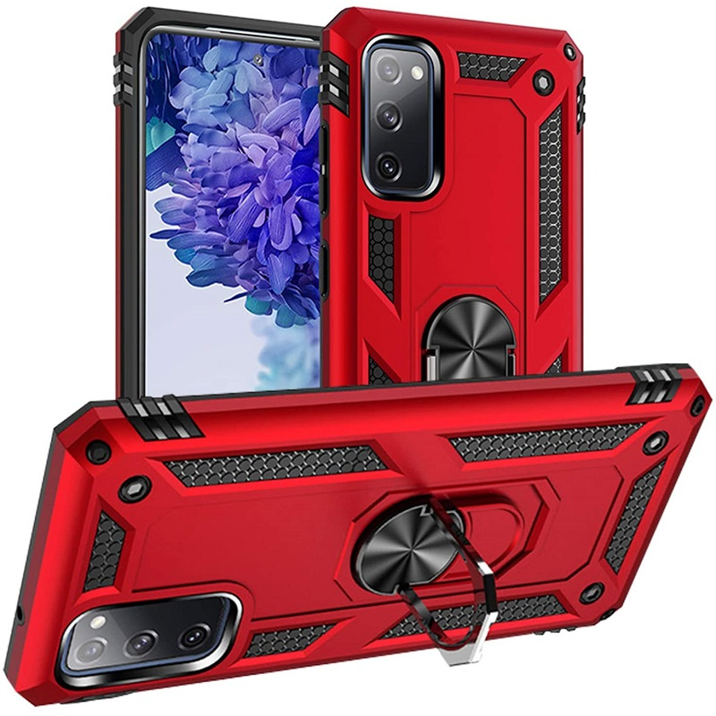 Samsung Galaxy S20 FE 5G Case - Red Ring Armour