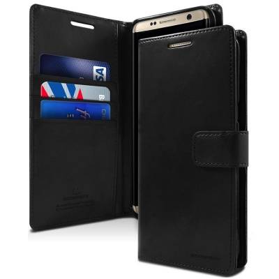Samsung Galaxy S8 Bluemoon Wallet Case  Black
