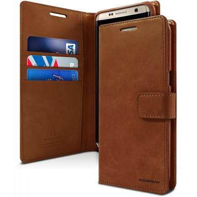 Samsung Galaxy S8 Bluemoon  Wallet Case Brown