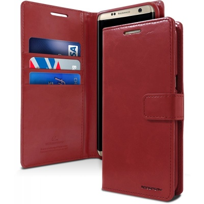 Samsung Galaxy S8 Bluemoon Wallet Case Wine