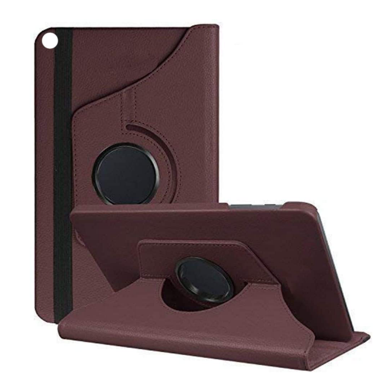 Samsung Galaxy Tab A Case 10.1(2019) SM-T510 360 Rotating Case Brown