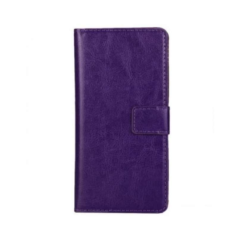 Samsung A20e Wallet Case Purple