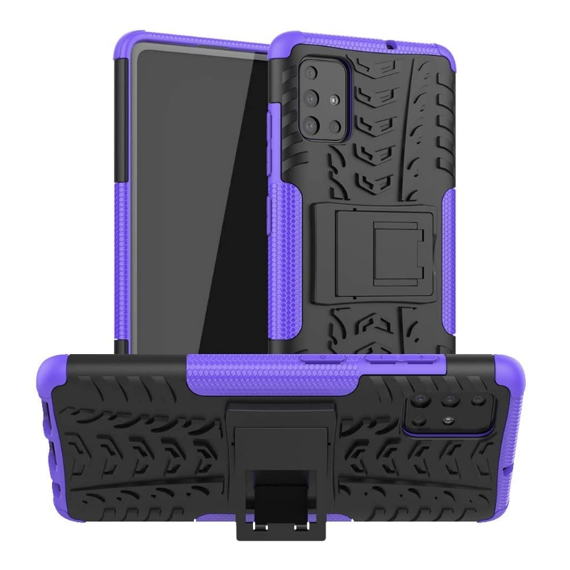 Samsung Galaxy A51 Case - Purple Tyre Defender