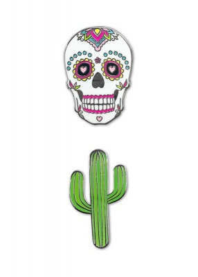 Sugar Skull Pack Phone Charms | iDecoz